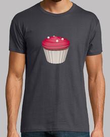 Camiseta cupcake de frambuesa
