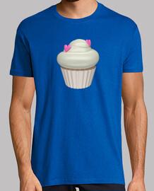 Camiseta cupcake de fresa y nata