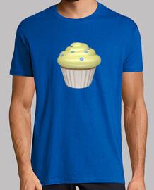 Camiseta cupcake de limón