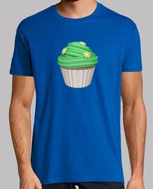 Camiseta cupcake de menta