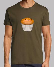 Camiseta cupcake de naa y chocolate