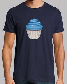 Camiseta cupcake de uva