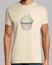 Camiseta cupcake de vainilla