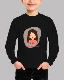 Camiseta Cuqui infantil Rosa