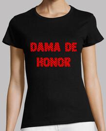 Camiseta dama de honor flamenca