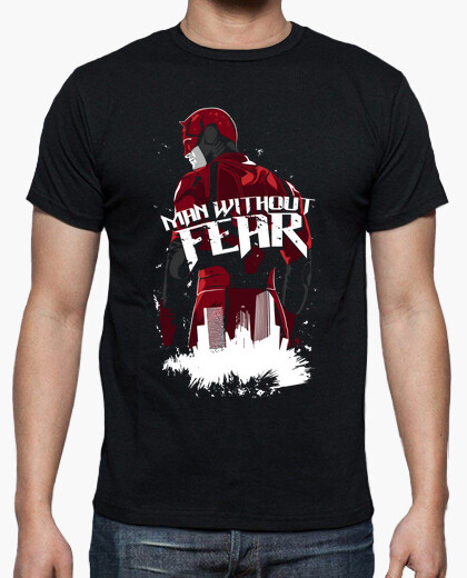 Camiseta Daredevil - Man Without Fear