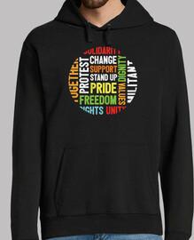 camiseta de activista