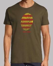 Camiseta de Aragon - Huella Hombre