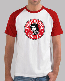 Camiseta de béisbol - First Blood Coffee