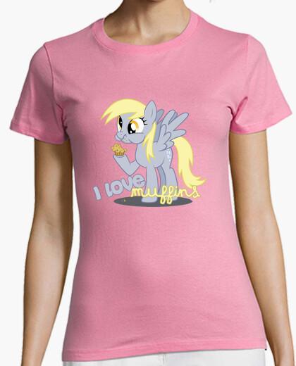 9162d430c2c48 Camiseta de chica    Derpy Hooves - My Little Pony - nº 501837 ...
