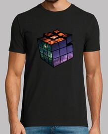 Camiseta de chico Cubo (Ambos lados)