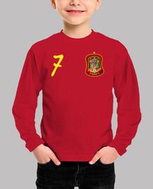 Camiseta de España número 7