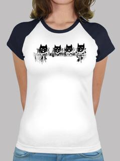 Camiseta de Gatos Vintage