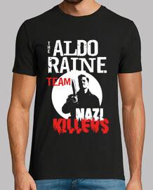 camiseta de hombre - asesinos nazis del equipo aldo raine