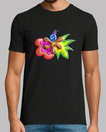 Camiseta de hombre Explosión de Color