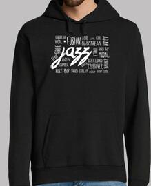 camiseta de jazz géneros