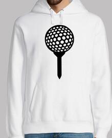 camiseta de la pelota de golf