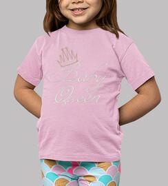 camiseta de la reina del bebé