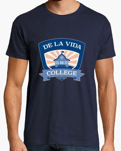 Camiseta De la Vida College