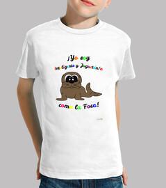 Camiseta de manga corta Foca