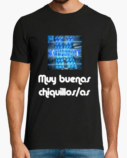 Camiseta de manga corta Hombre con logo y frase inicial de Kevinut