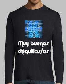 Camiseta de manga larga Hombre con logo y frase inicial de Kevinut
