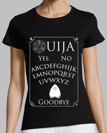 camiseta de mujer blanca ouija.