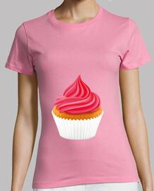 camiseta de mujer caroline chaning - rellena de crema - 2 broked girls