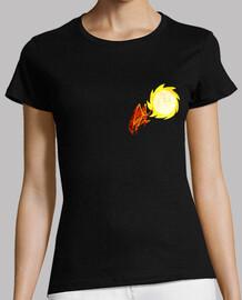 camiseta de mujer de icarus