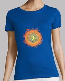 camiseta de mujer street runner