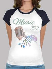 camiseta de música 50s