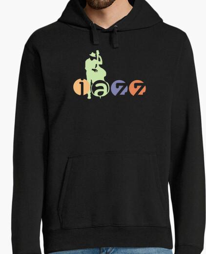Jersey camiseta de músico de jazz