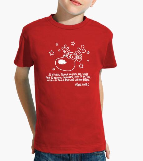 Ropa infantil camiseta de navidad