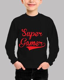 camiseta de niño súper jugador