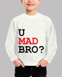 camiseta de niño u mad bro?