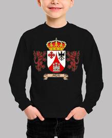Camiseta de niños Escudo Apellido Arias