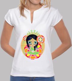 Camiseta de nmujer mandala