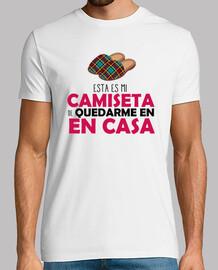Camiseta de Quedarse en Casa 2
