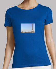 camiseta de tirantes con la foto de paris