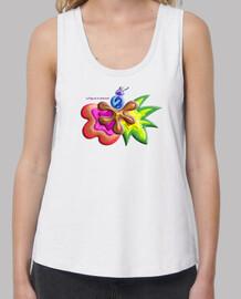 Camiseta de tirantes de mujer Explosión de Color