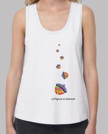 Camiseta de tirantes de mujer Raíces