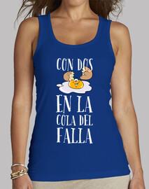 Camiseta de tirantes Diseño colo del Falla