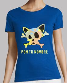 Camiseta de tiras Frenchie Skull