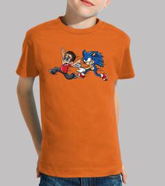 Camiseta de youman con sonic.exe