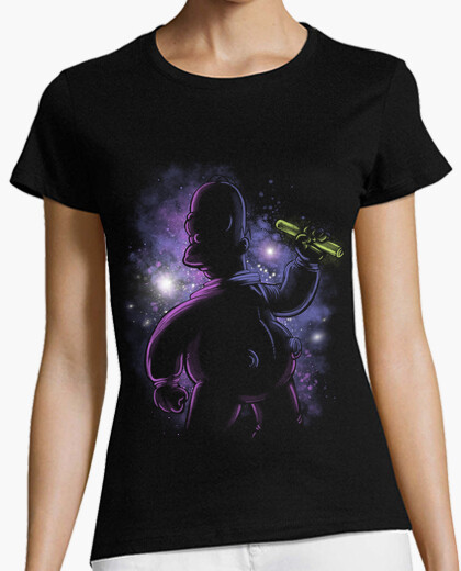 Camiseta Deep Space Homer