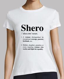 Camiseta Definición Shero