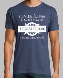 Camiseta Defraudado por la última temporada