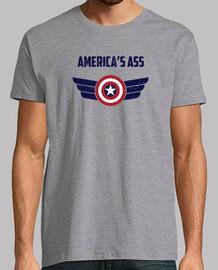 Camiseta del culo de américa