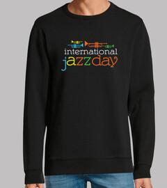 camiseta del día internacional del jazz