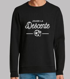 camiseta del distrito de fútbol